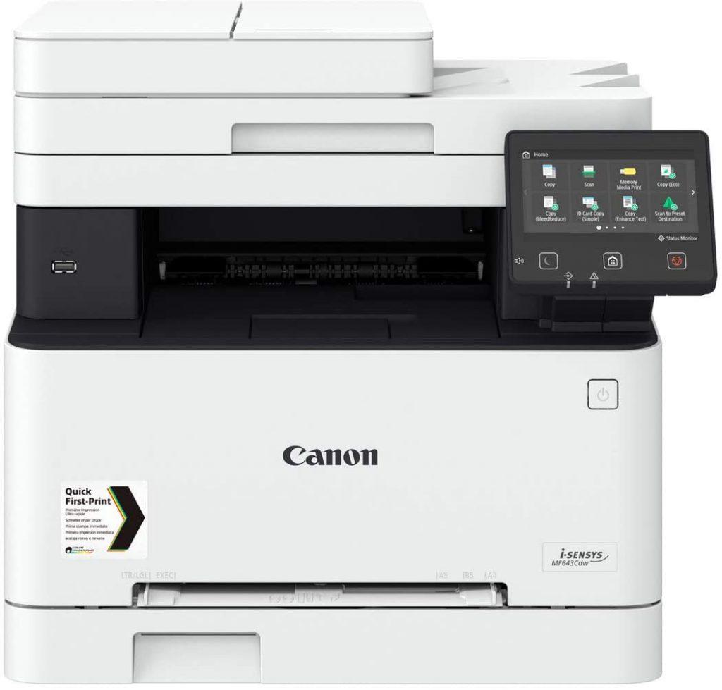 Canon i-SENSYS MF643CDW tes avis