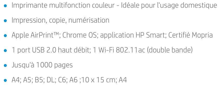 Les points forts et caractéristiques de l'imprimante HP Envy 5010